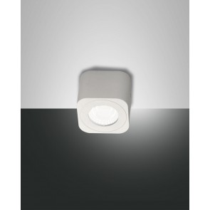 Palmi LED, Weiss, Acrylglas, teilsatiniert, 540lm, 6W