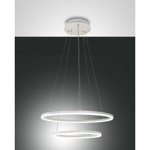Giotto Ø 60 cm weiß 2-flammig rund