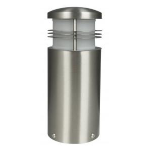 Creo Höhe 25 cm metallisch 1-flammig zylinderförmig