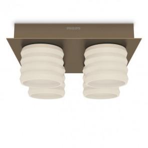 Philips INS Ortega LED Deckenleuchte Messing fume 2000lm