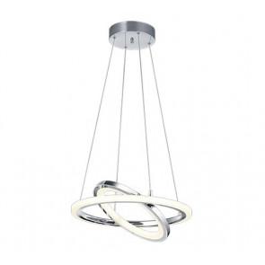Saturn, LED, IP20, dimmbar, schwenkbar, chrom