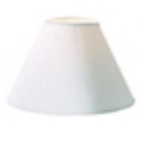 Kon Ø 20 cm weiß rund