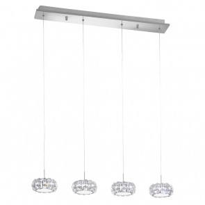 Corliano, Höhe 166 cm, 4-flammig, inkl LED