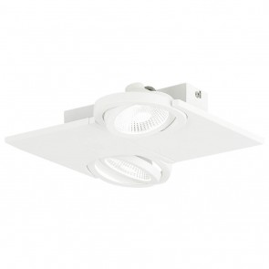 Brea, 28x 29 cm, inkl LED, weiß