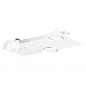 Brea, 42x 29 cm, inkl LED, weiß