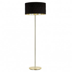 EGLO Dolorita, Höhe 162 cm, schwarz/ gold