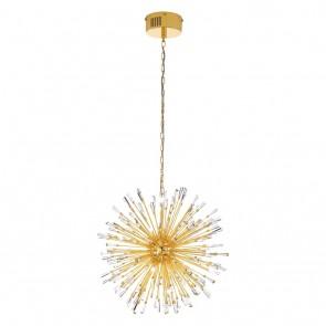 Vivaldo, LED, Ø 68cm, goldfarben