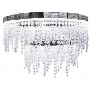 Antelao, Ø 61 cm, dimmbar, inkl LED und Glaskristallen