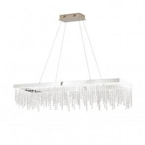 Antelao, Breite 32 cm, dimmbar, inkl LED und Glaskristallen