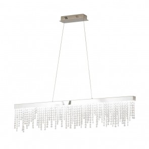 Antelao, Breite 90 cm, dimmbar, inkl LED und Glaskristallen
