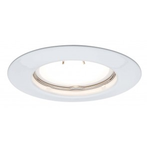 TIP EBL Set LED starr 1x3W 230V GU10 51mm Weiß