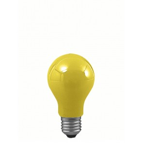 E27 25W 6 cm, gelb