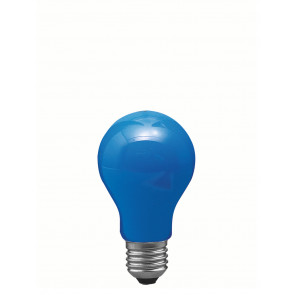 Leuchtmittel E27 40 W blau