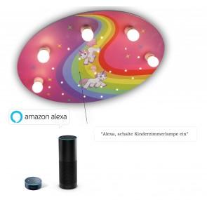 Deckenleuchte Einhorn Amazon Echo kompatibel