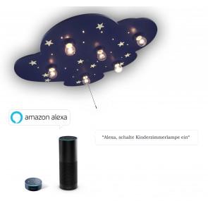 Deckenleuchte Wolke XXL Amazon Echo kompatibel