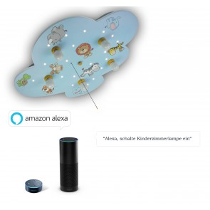 Deckenleuchte Wilde Tiere Amazon Echo kompatibel
