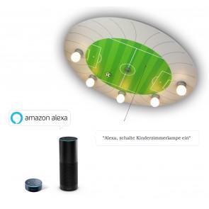 Deckenleuchte Fussballstadion Amazon Echo kompatibel