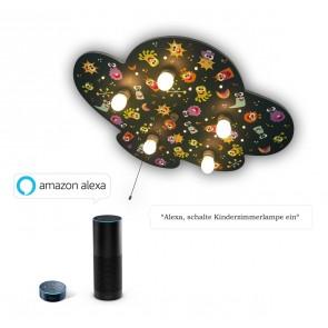 Deckenleuchte Aliens Amazon Echo kompatibel