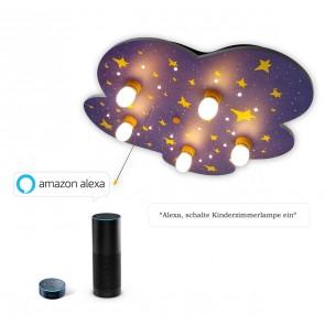 Deckenleuchte Nachthimmel Amazon Echo kompatibel