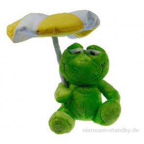 Frosch unter'm Sonnenschirm Höhe 32 cm grün 1-flammig rund