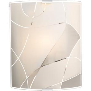 PARANJA Wandleuchte Weiß, 1 x E27 ILLU