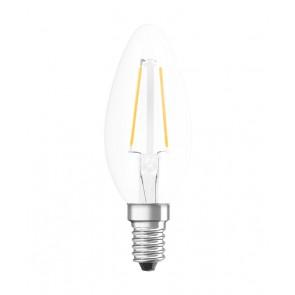 LED RETROFIT B15 1,2W E14 klar non dim 136 LM BLISTER