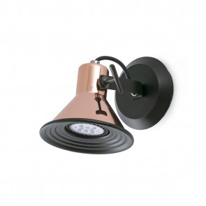 Cup-1 WL, Copper 1 X Gu10 LED 8W