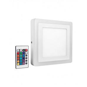 Led Color + White Square 200Mm 19W - 780Lm