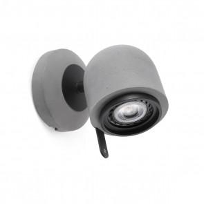 Stone-1  WL, Orientable 1 X Gu10 LED 8W