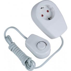 Heitronic Dimmer 20-300W, mit Adapter und Zuleitung