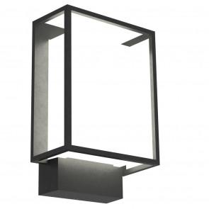 Nestor Höhe 22,1 cm schwarz 1-flammig quaderförmig