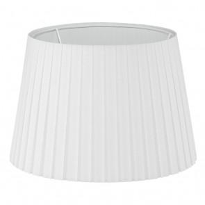 1+1 Vintage, Plissee, Ø 24,5 cm, E14, weiß