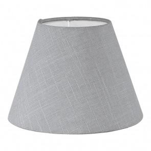 1+1 Vintage, Leinen, Ø 20,5 cm, E14, grau