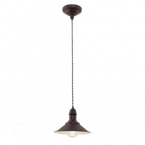 EGLO Stockbury, 1-flammig, Höhe 1,1m, Ø 21 cm