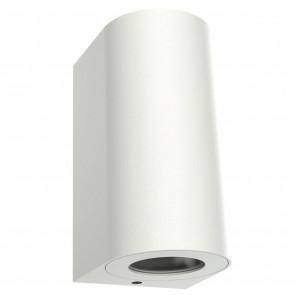 Canto Maxi 2 Höhe 17 cm weiß 2-flammig halbrund