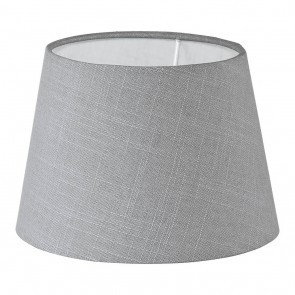 1+1 Vintage, Leinen, Ø 20,5 cm, E27-E14, grau