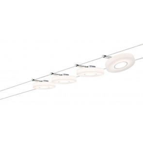 Smart Wire System BLE DiscLED I 4x4W Satin 230V/12VA DC 36VA Tunable White