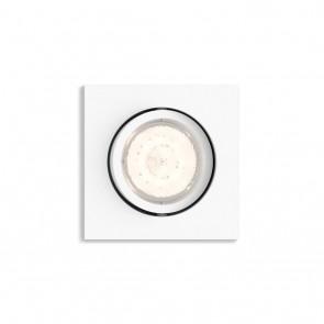 MYL LED Einbauspot Shellbark Eckig Weiß WarmGlow