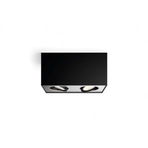 Box, LED, IP20, 2-flammig, dimmbar, schwarz