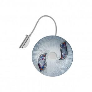 Luna WL, Chrom, Glas, G9, 5110.60150.000/ki50, Kiss Silver
