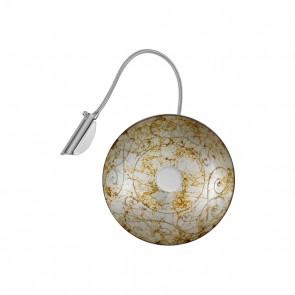 Luna WL, Chrom, Glas, G9, 5110.60150.000/me50, Medici Silver
