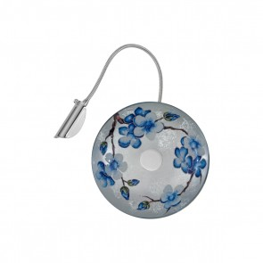 Luna WL, Chrom, Glas, G9, 5110.60150.000/pr50, Primavera Silver