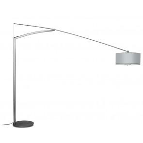 Vibia Balance, Schirm Aluminiumfäden, Tiefe 215 cm, nickel matt