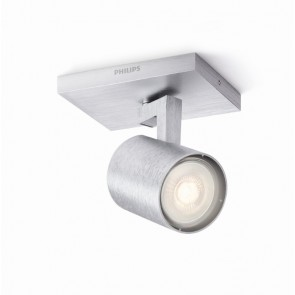 Runner LED, 1-flammig, aluminium