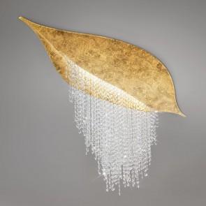 Fonte Di Luce DL, Blattgold, Kristall, LED dimmbar, 5313.10350.940