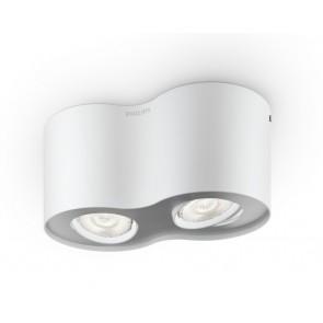 Phase, LED, 2-flammig, weiß, B-Ware