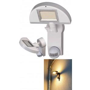 Sensor LED-Leuchte Premium City weiss, mit Infrarot-Bewegungsmelder