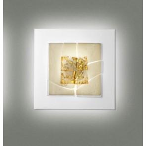 Laguna P60 2Gx13 Delta White Gold + Glass Beads