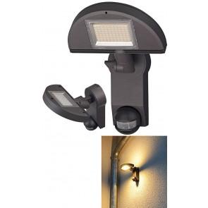 Sensor LED-Leuchte Premium City anthrazit, mit Infrarot-Bewegungsmelder