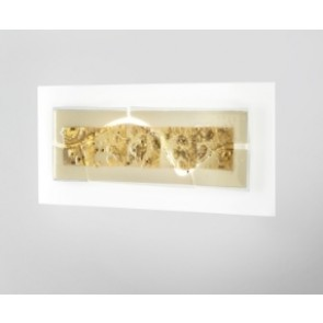 Laguna P74 2G11 Canal Amber Gold +Glass Beads
